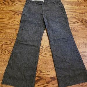 Gap Dark Wide Leg Trouser Jean